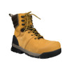 Angle View BOGS Pillar 8 Men's Waterproof Composite Safety Toe Zip Sided Work Boots in Camel (978763 – 220)