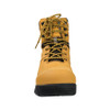 Front View BOGS Pillar 8 Men's Waterproof Composite Safety Toe Zip Sided Work Boots in Camel (978763 – 220)