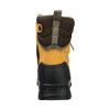 Rear View BOGS Pillar 8 Men's Waterproof Composite Safety Toe Zip Sided Work Boots in Camel (978763 – 220)
