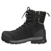 Zip View BOGS Pillar 8 Men's Waterproof Composite Safety Toe Zip Sided Work Boots in Black (978763 – 001)