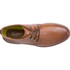 Top View Florsheim Supacush Plain Toe Chukka Boot in Rich Tan Leather (161149-271)