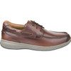 Outer View Florsheim Great Lakes Moc Toe Derby Shoe in Redwood Leather (171312-217)