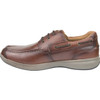 Inner View Florsheim Great Lakes Moc Toe Derby Shoe in Redwood Leather (171312-217)