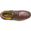 Top View Florsheim Great Lakes Moc Toe Derby Shoe in Redwood Leather (171312-217)