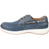 Inner View Florsheim Great Lakes Moc Toe Derby Shoe in Navy Leather (171312-410)