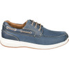 Outer View Florsheim Great Lakes Moc Toe Derby Shoe in Navy Leather (171312-410)