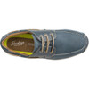 Top View Florsheim Great Lakes Moc Toe Derby Shoe in Navy Leather (171312-410)