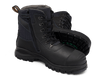 Pair Blundstone 982 Zip Sided Steel Cap Chemical Resistant Safety Boots (982)