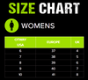 Otway Women's Size Chart
