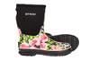 Otway Stroller Mid Insulated Ladies Waterproof Gumboots in Roses (Ow0152)