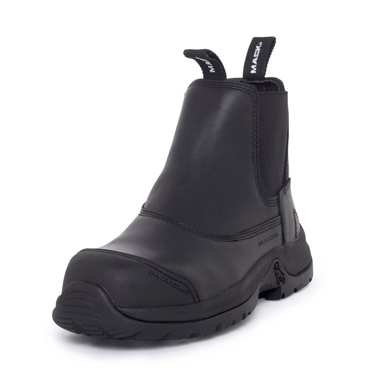 81bde6fd0ec Mack Boots Barb II Composite Toe Slip and Water Resistant Pull On ...