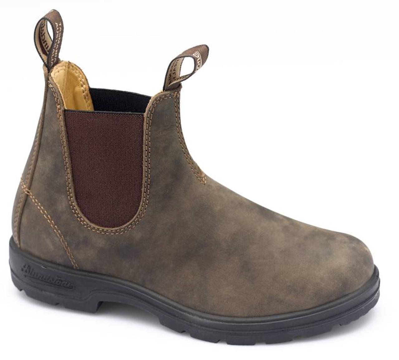 34496dd84f3 Blundstone Urbans 585 Rustic Brown Leather Boots