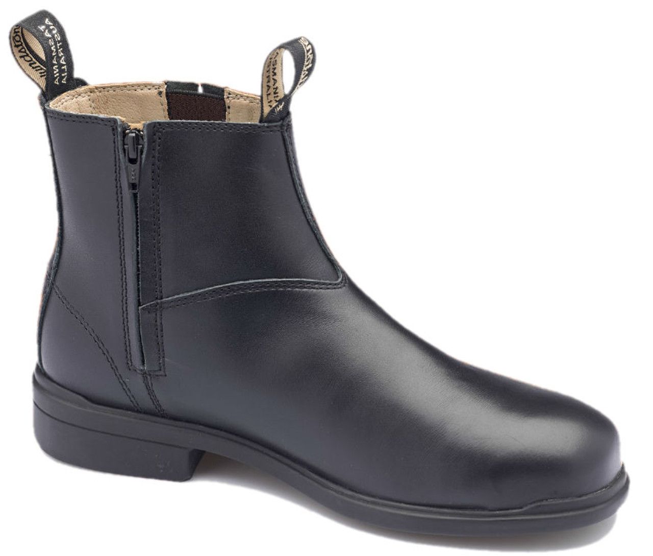 0c719964038 Blundstone 783 Black Full Grain Leather Zip Sided Steel Toe Safety ...