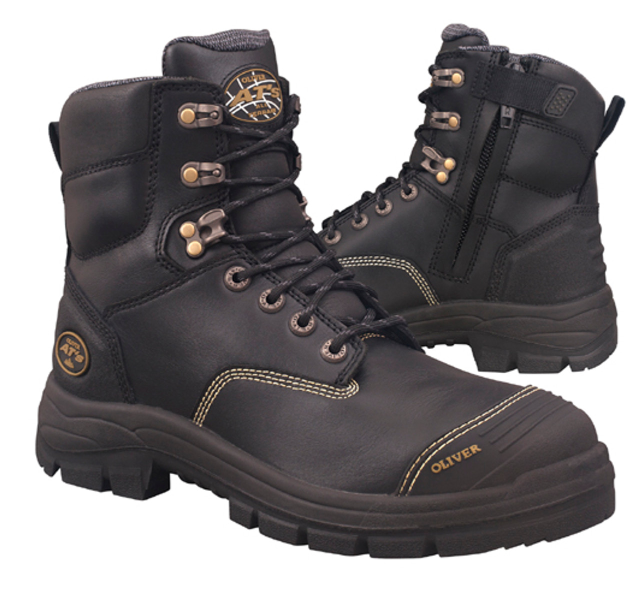 3c2d46a3f32 Oliver Boots AT55-345Z Zip Sided 150mm (6