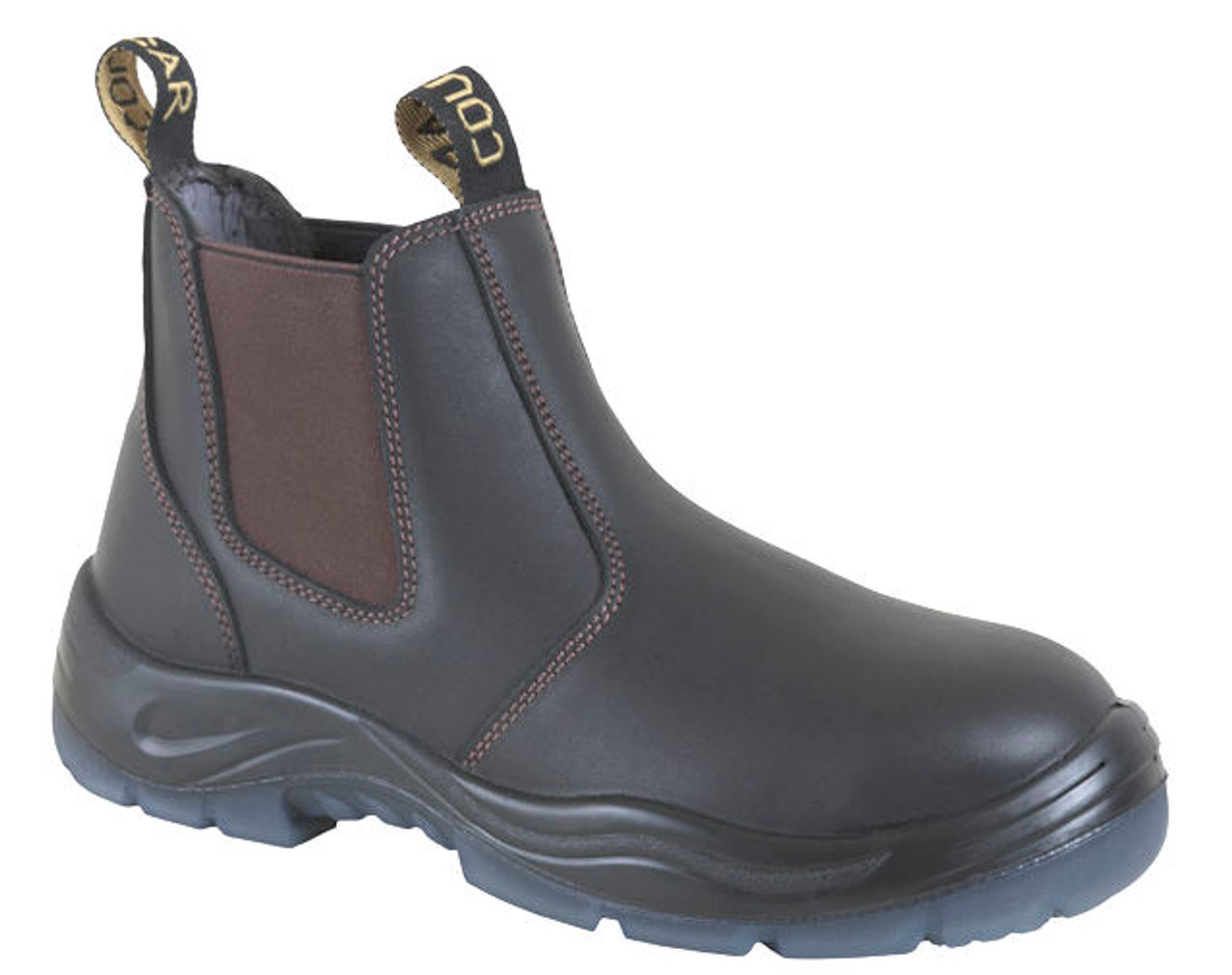 8bcddb8c1e6 Cougar Jersey Elastic Sided Work Boots Non Safety