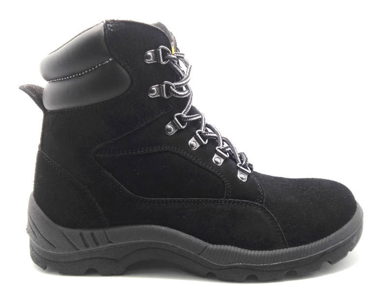 eb634d329f Diadora Asolo Steel Toe Cap Safety Work Boots in Black Leather ...