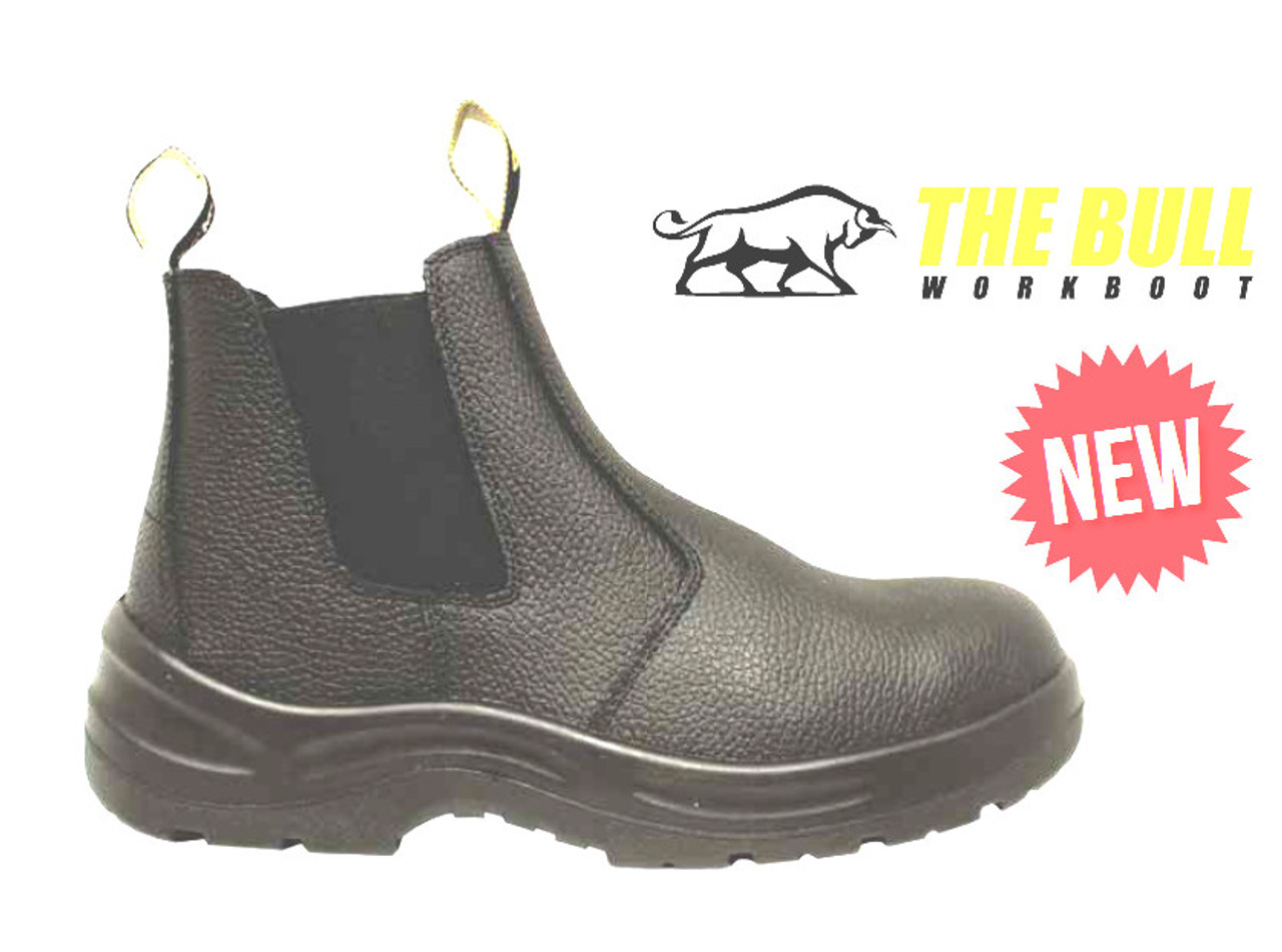 c9b1c43f194 Munka Bull Elastic Sided Work Boots with Steel Cap - Koolstuff Australia