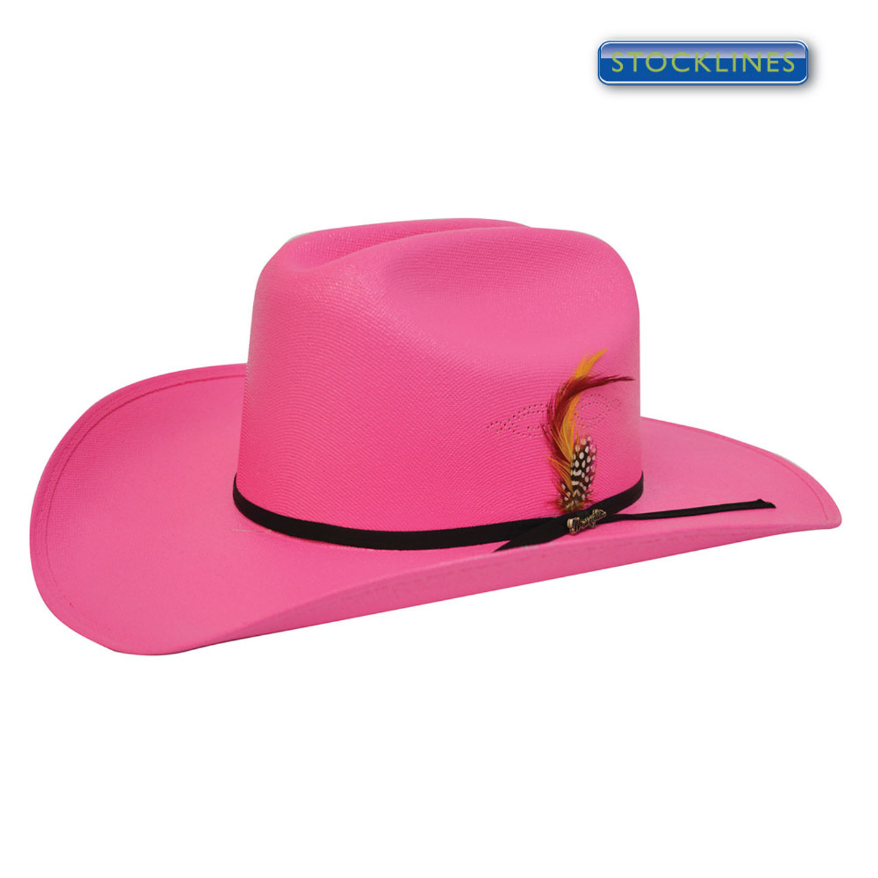 540159757f9 Wrangler Western Kids Dallas Cotton Canvas Western Hat in Fuschia  (XCP3905HAT Fuschia)