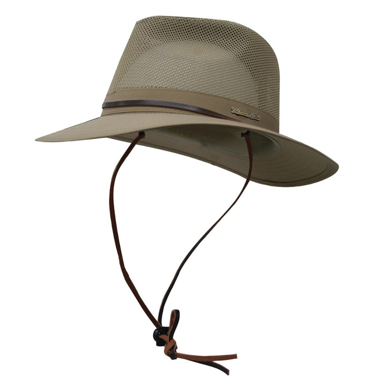 Thomas Cook Kakadu Hat with Airmesh Ventilation and Hat Strap in Khaki  (TCP1931HAT) 750ef482516