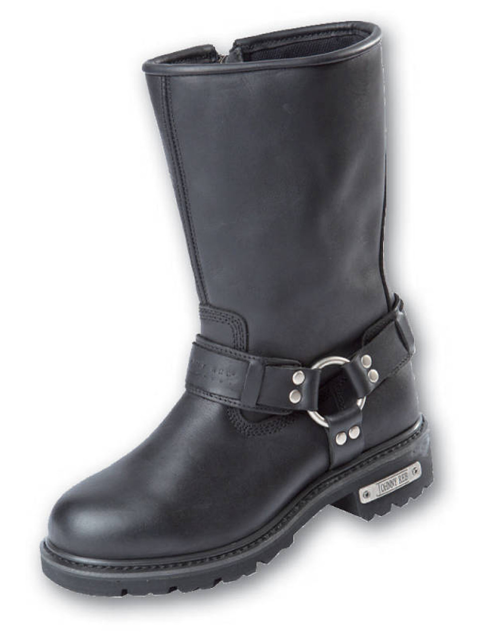 bca85f0f604 Johnny Reb Rogue Zip Up Motorcycle Boot