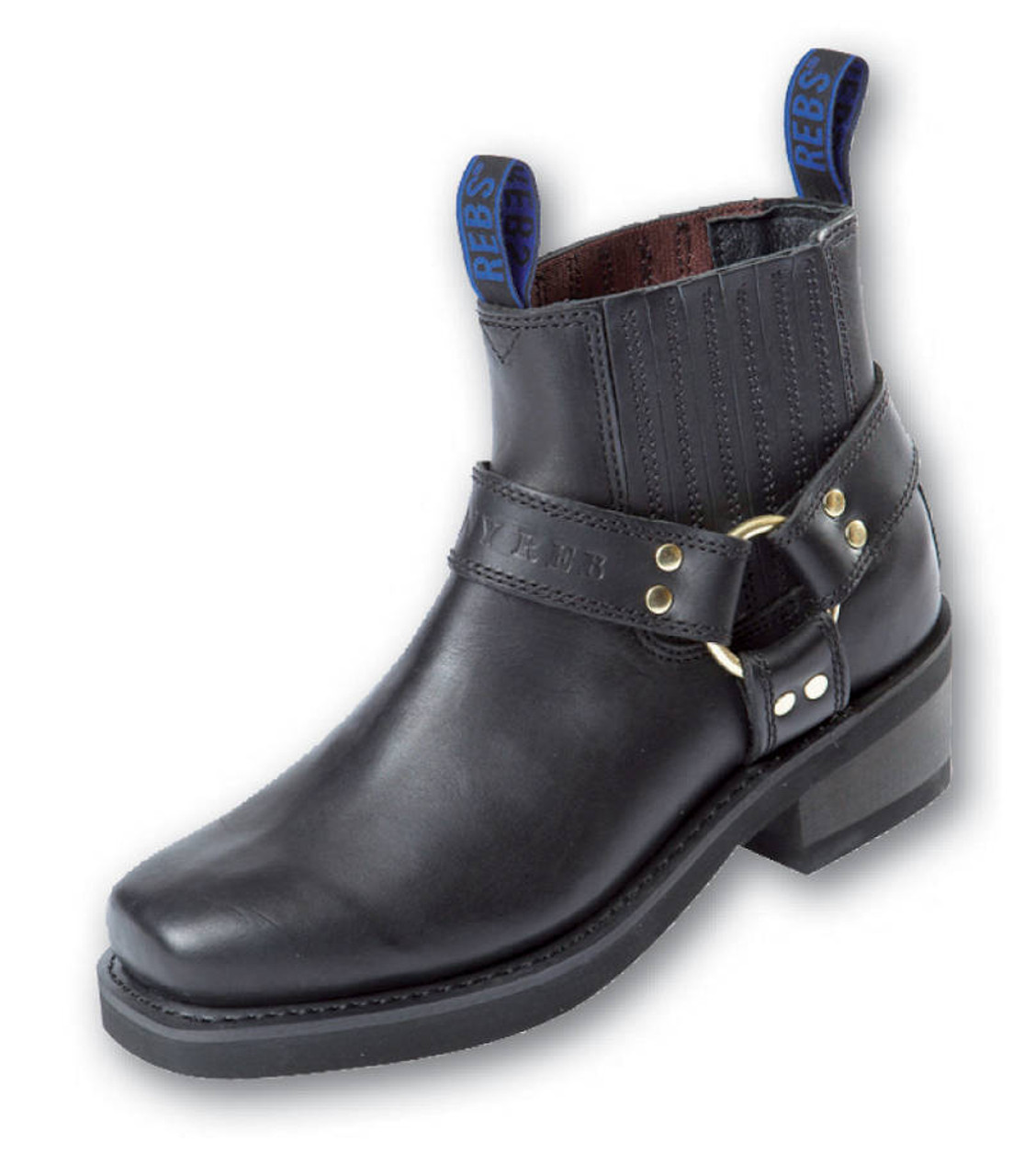 5a1ac120253 Johnny Reb Classic Short Motorcycle Boot