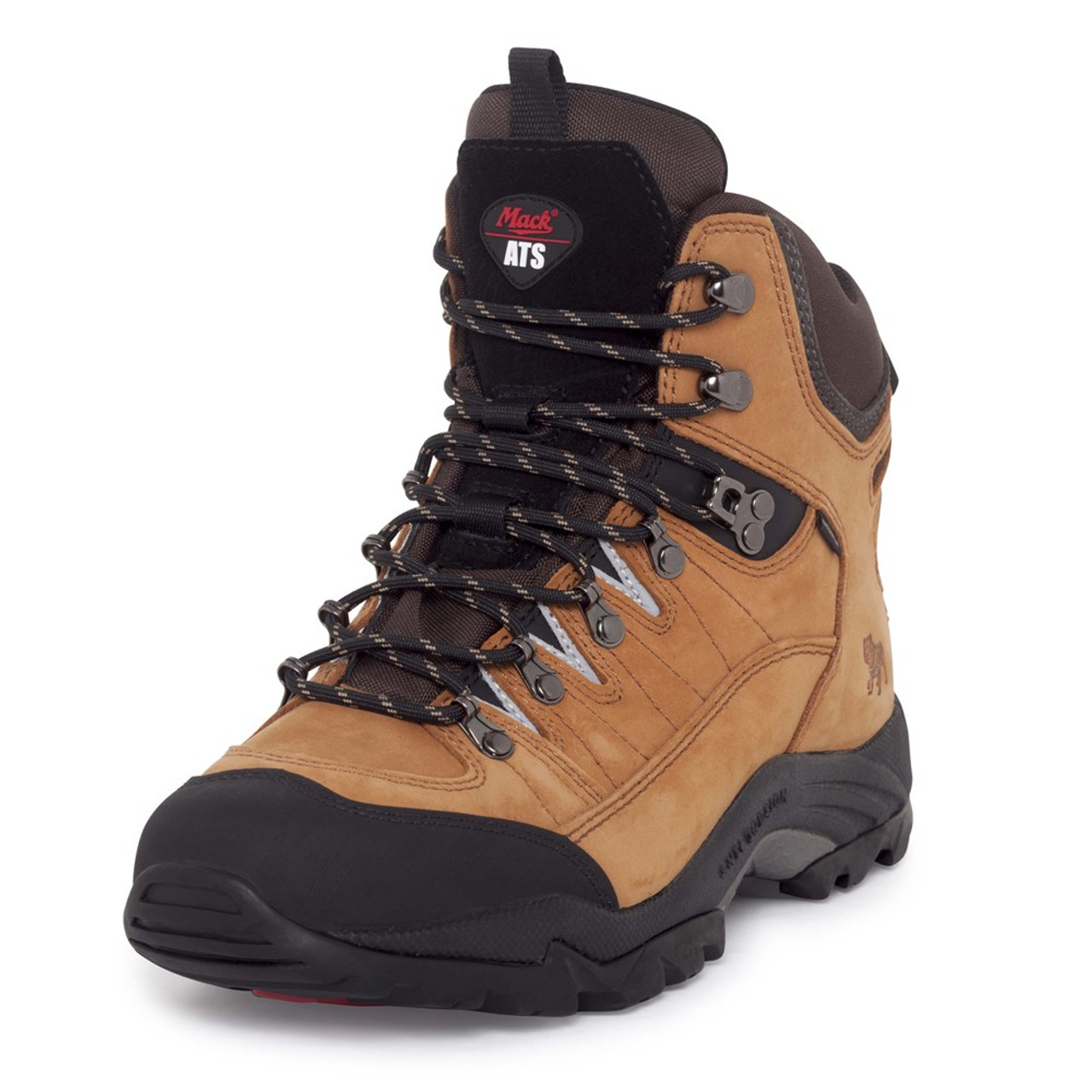 46a66044cf Mack Boots Peak, Lace Up Waterproof Hiking Boot With Padding, Honey