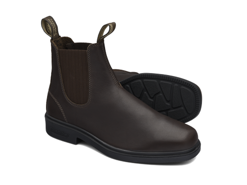 Blundstone 659 Brown full grain leather elastic side Dress Boot (659)