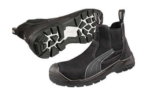Puma Safety Boots Scuff Caps Tanami Black 630347 with Composite Toe Cap (630347)