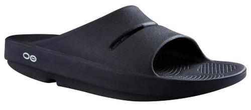 Oofos Ooahh Slides Black