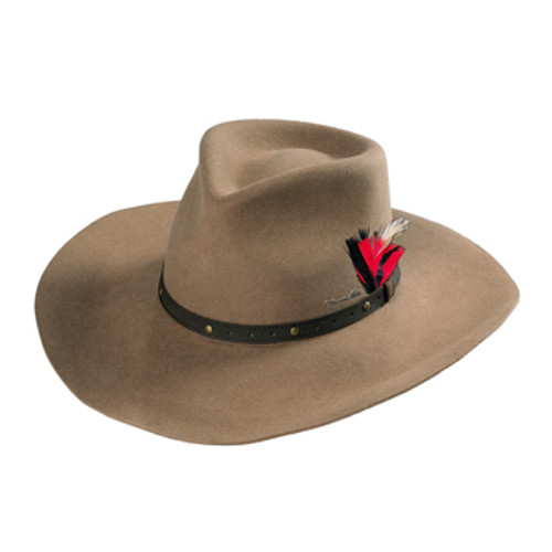 eab8d25494b Pure Western Tornado Wool Felt Hat in Light Cream.  79.95. Thomas Cook  Drought Master Hat Made From Pure Wool Felt