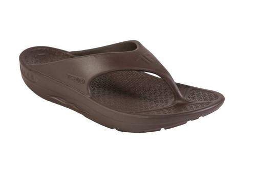 Telic Thongs - Flip Flops Espresso Brown