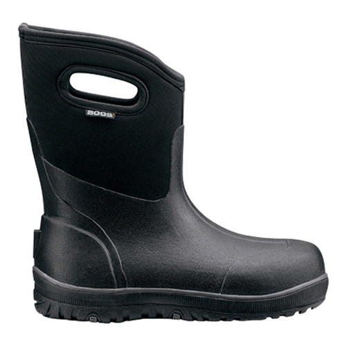 BOGS Ultra Mid Mens Insulated Gumboots in Black