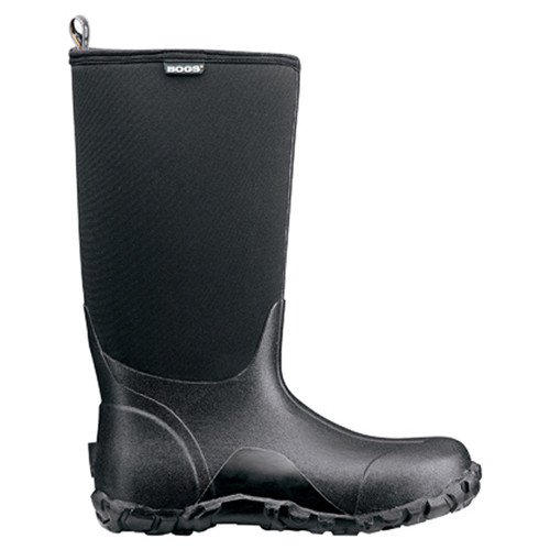 BOGS Classic High Mens Insulated Waterproof Gumboots in Black