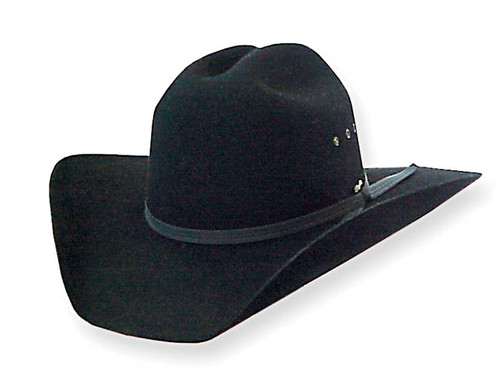 Pure Western Tornado Wool Felt Hat in Black