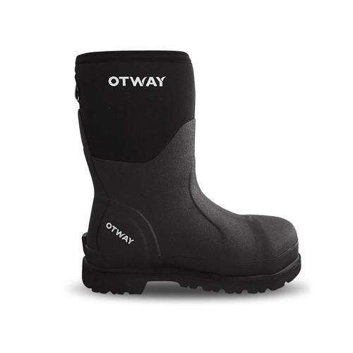 Otway Workman Mid Steel Cap Insulated Waterproof Neoprene Safety Gumboots
