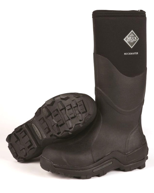 8a9360e5f253cf Muck Boots Muckmaster High Commercial Grade Insulated Waterproof Boots