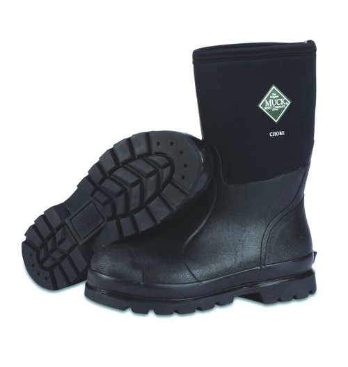 Muck Boots Chore Mid Height Insulated Waterproof Boots