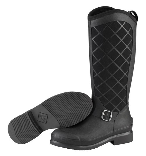Muck Boots Pacy II Womens Tall Insulated Waterproof Slip Resistant Riding Boots in Black