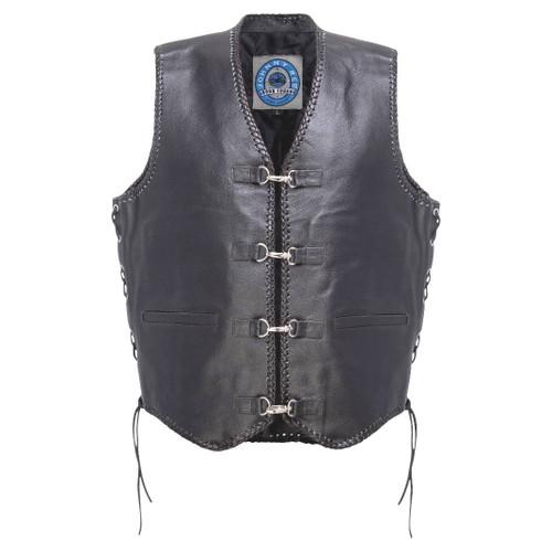 Johnny Reb Capricorn Leather Vest