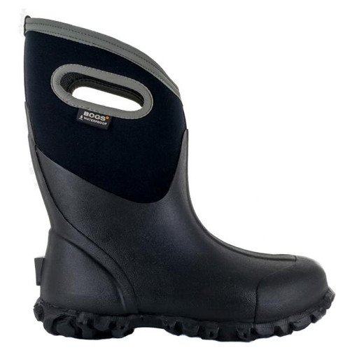 BOGS Ultra Mid Mens Farm Insulated Gumboots in Black