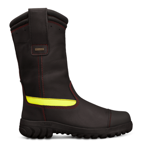 Oliver Boots HS66-496 Structual 300mm Pull On Firefighters Boots (HS66-496)