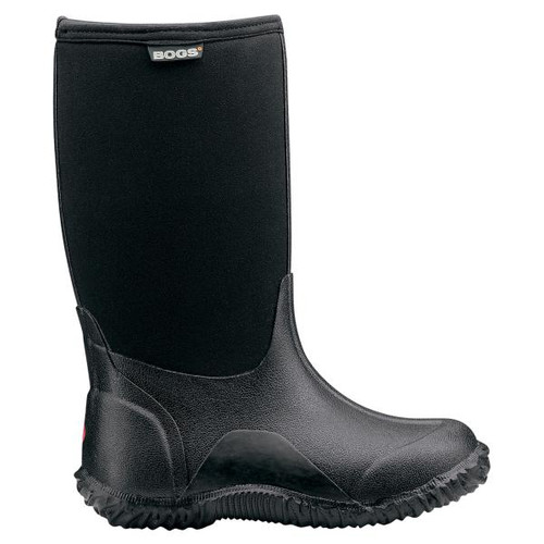 BOGS Kid's Classic High Insulated Waterproof Gumboots in Black (52063-B44)