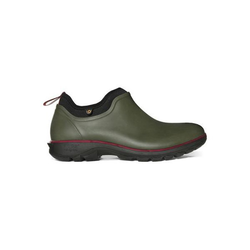 BOGS Sauvie Slip On Mens Insulated Waterproof Urban boots in Dark Green (972207-309)