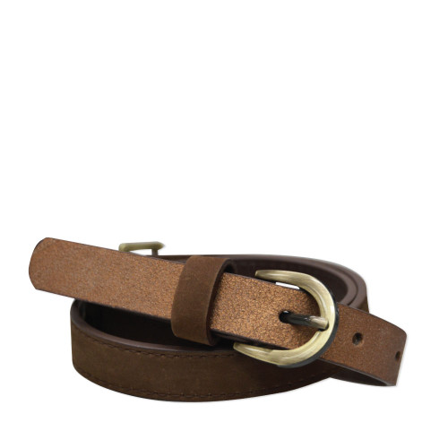 Thomas Cook Women's Chelsea Two Tone Belt in Brown and Bronze (T8W2912BEL BRNZ)