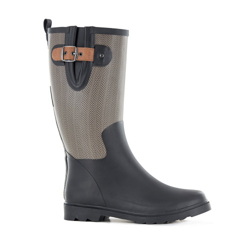 Blackfox Ambre French Designed Cotton Lined Handmade Gumboots (AJS-AMBREB)