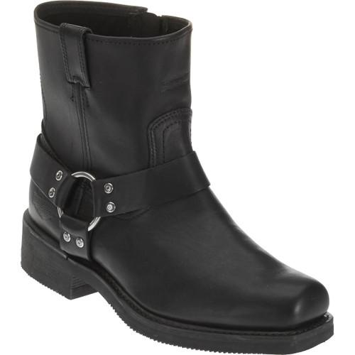 Harley Davidson El Paso Full Grain Leather Boots in Brown (D94422 Black)
