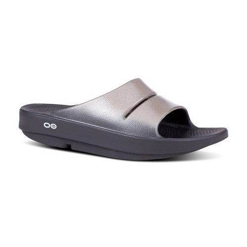Oofos Ooahh Luxe Women's Slides in Latte (1101LAT)