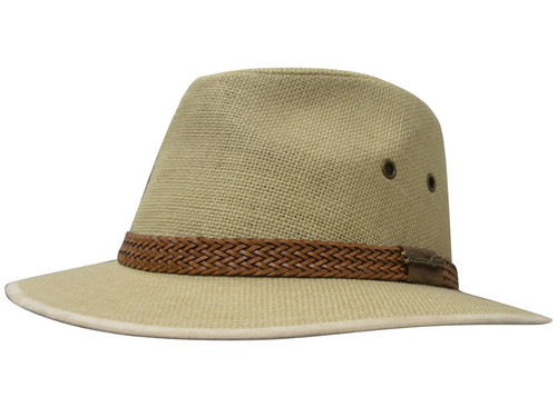 189d6f1c0de Thomas Cook Broome Linen Hat in Tan (TCP1932HAT Tan)