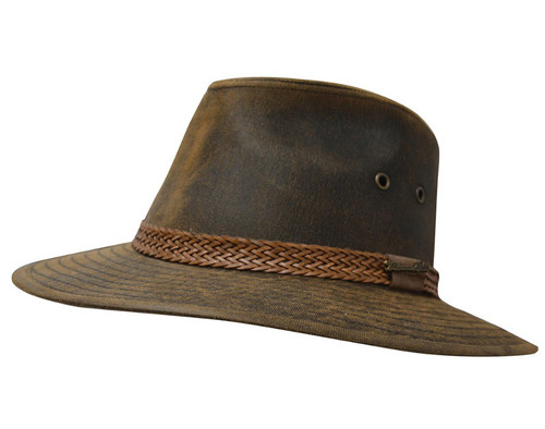Thomas Cook Mansfield Hat in Rustic Brown (TCP1933HAT)