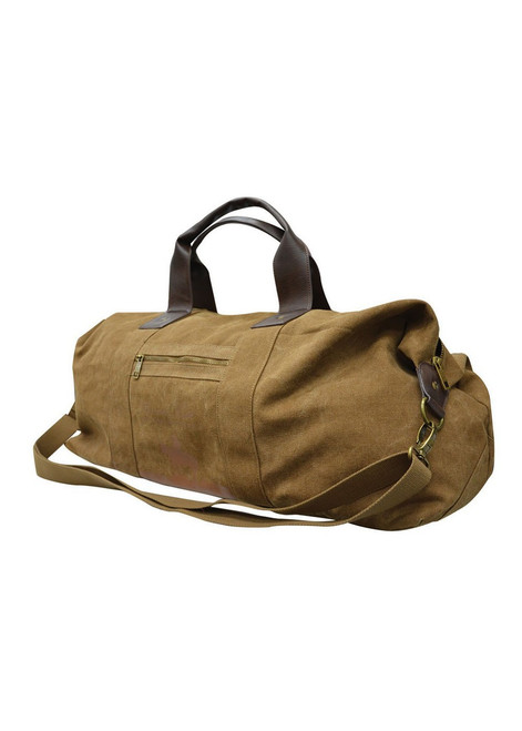 Thomas Cook Heavy Duty Canvas Duffle Bag in Brown (TCP1906097 Brwn)